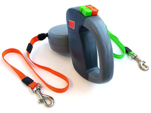 2 Dogs Retractable Leash