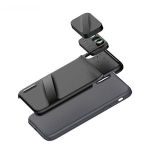 IPhone Six-in-one Macro Fisheye Telephoto Wide-angle Slr Phone Case Lens