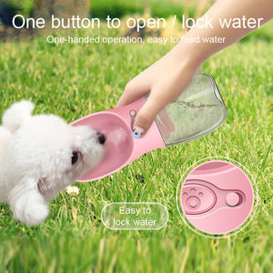 Portable Doggie Water Bottle