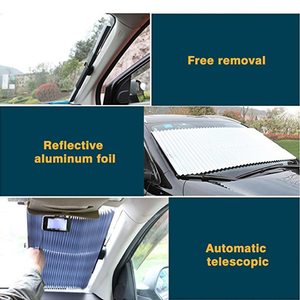 Car Auto Retractable Sunshade