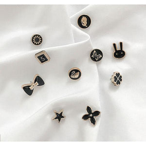 【Time-Limited Promotion Discount Buy 2 Get 1 Free】Prevent Accidental Exposure Of Buttons (Set of 10 Pcs)