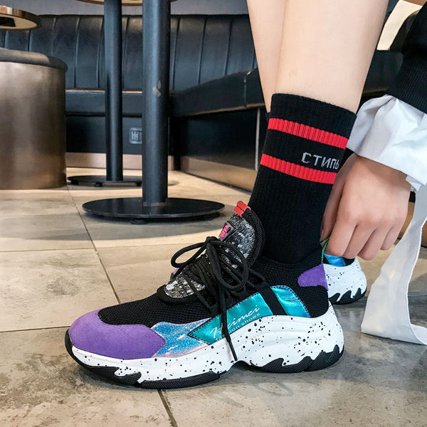 Women's Shoes - 2019 New Spring Suede Casual Sneakers