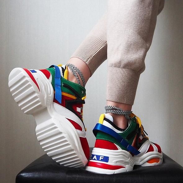 2019 Unisex hottest Sneakers high platform Casual Shoes