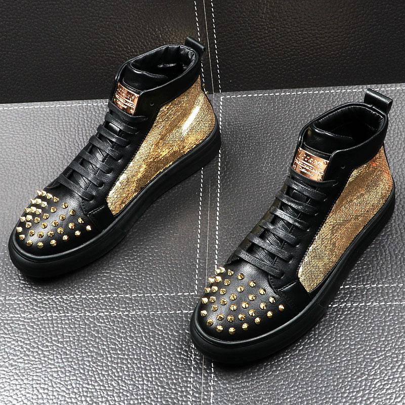 Hip Pop High-Top Fashion Shoes