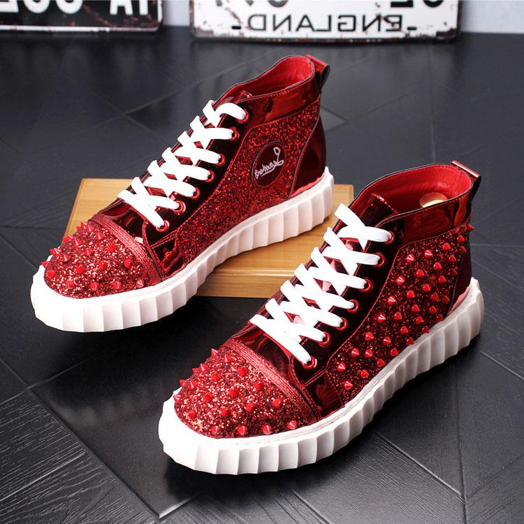 HIgh Top Spikes Shoes
