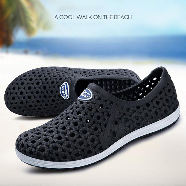Hollow Out Hole Beach Breathable Sandals Light Casual Beach Shoes