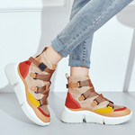 Women's Shoes - Women's 2018 Comfortable Platform High Top Sneakers