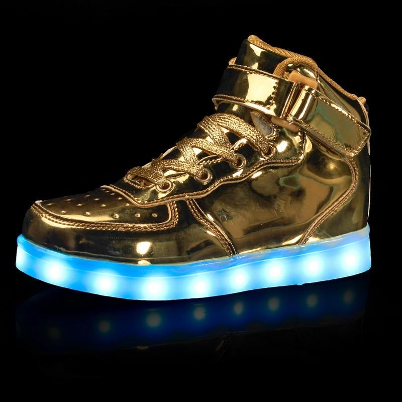Men's Light Up Shoes Faux Leather Spring