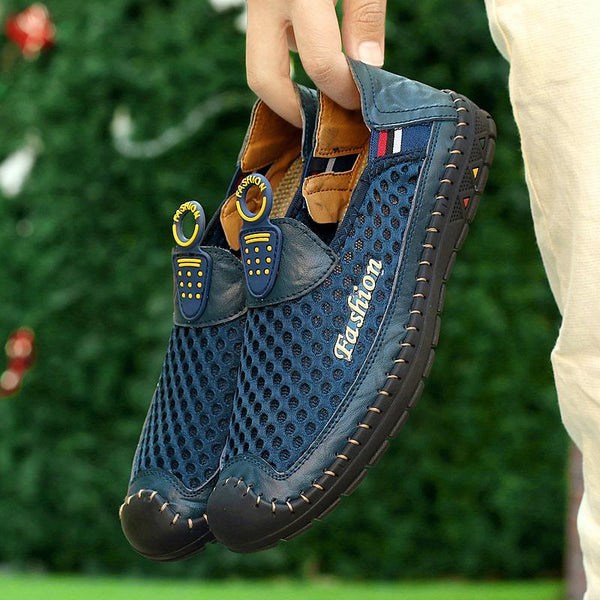 Mesh New Slip On Shoes Men Casual Shoes Plus Size