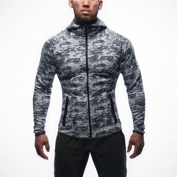Outdoor leisure camouflage men's jacket