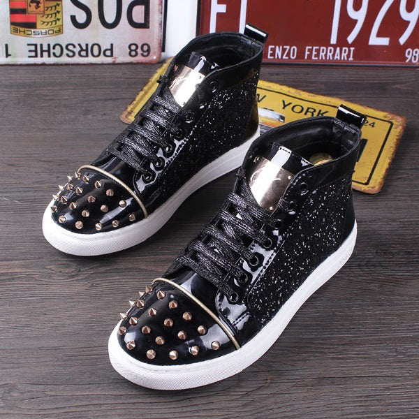 High top Male Designer Loafers