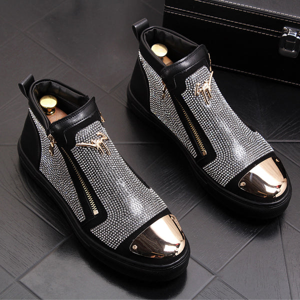 Personalized fashion high shoes