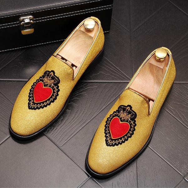 Fashion pointed loafers