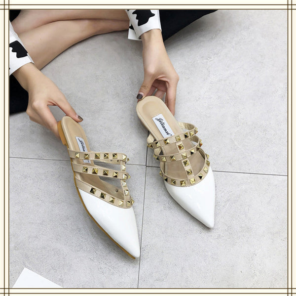 Fashion wild fish mouth shoes