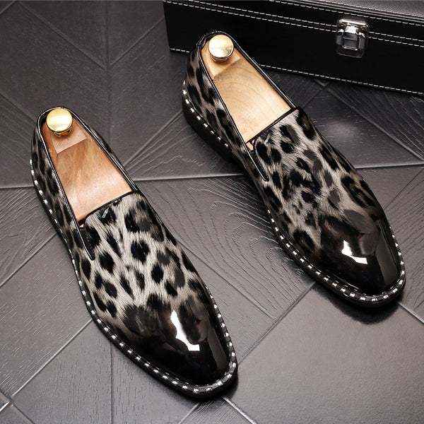 Leather Trendy Loafers-b