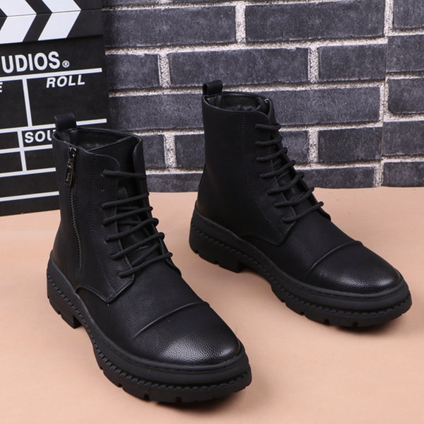 British style high-top boots