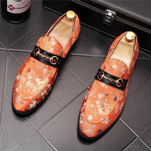 Print Trendy Loafers