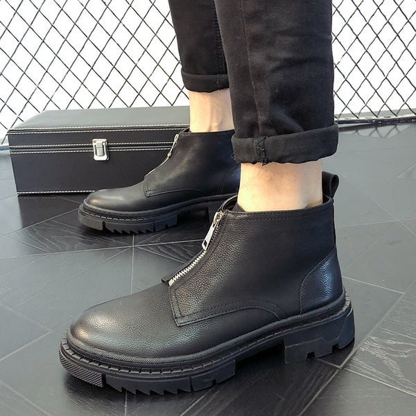 Casual high-top Martin boots