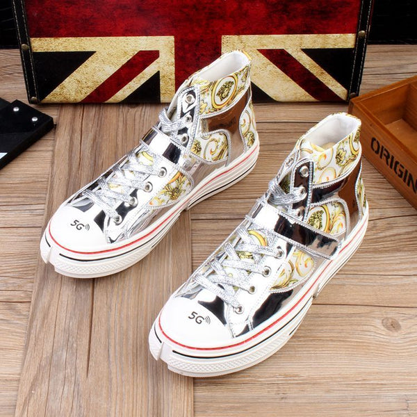 Personalized printed casual shoes