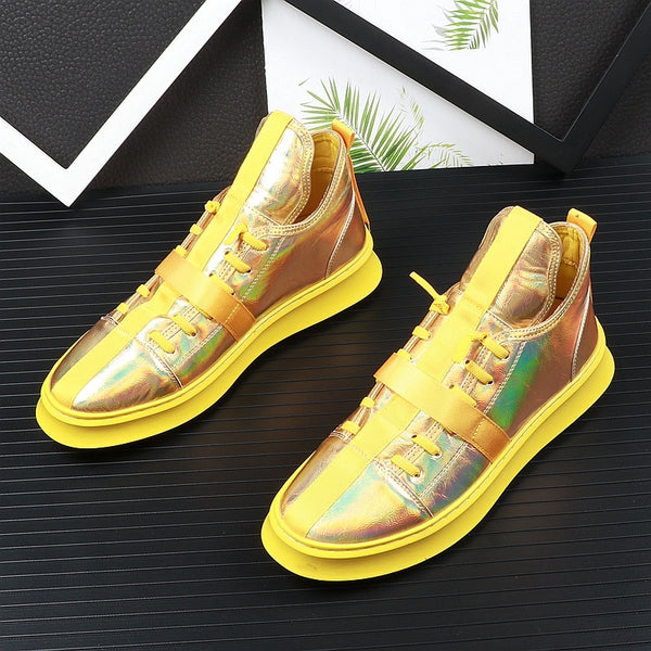 Trendy set of sneakers
