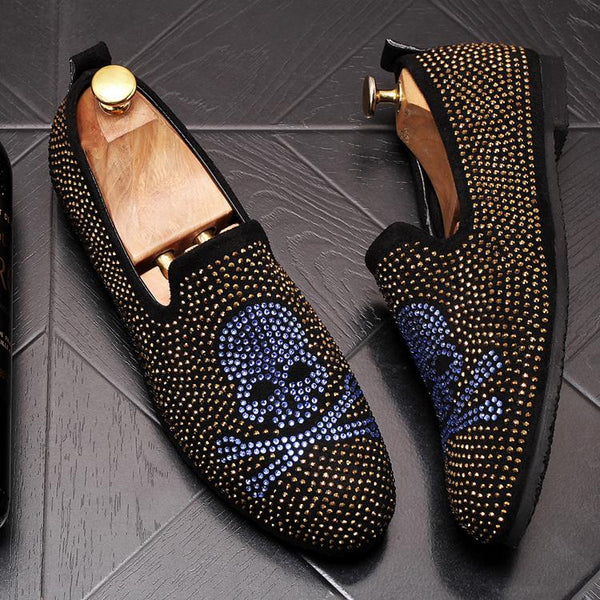Skull Trendy Loafers