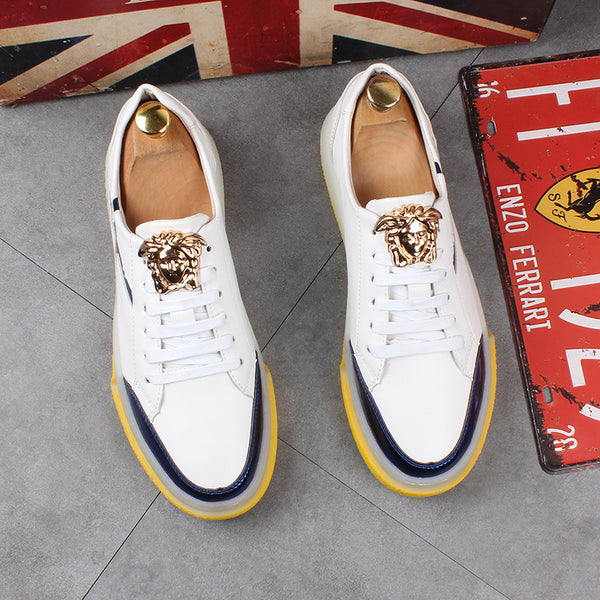 Europe and America wild white shoes
