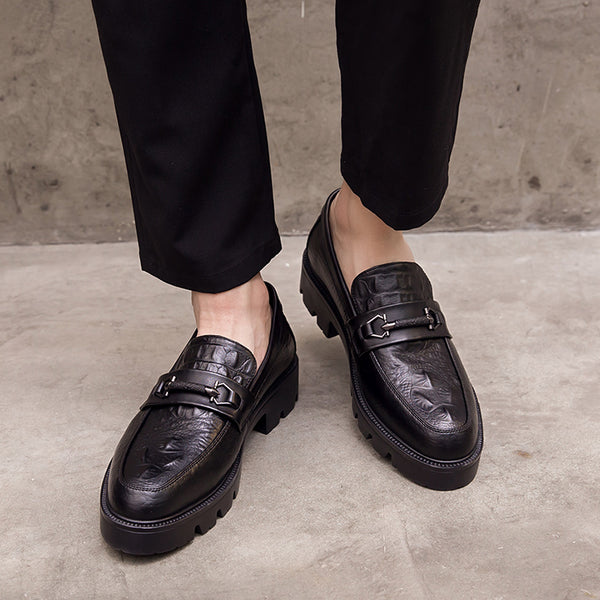 British one-legged men's shoes
