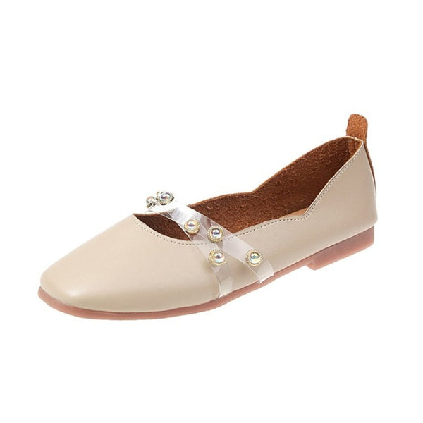 Flat bottom square single shoes one foot