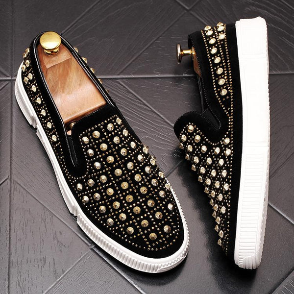 Sequin Trendy Loafers