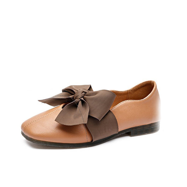 Fashion square head shallow mouth flat bottom female
