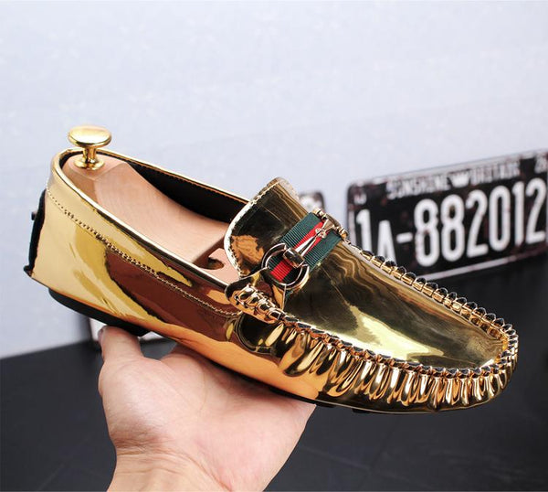 Glitter Trendy Loafers-H