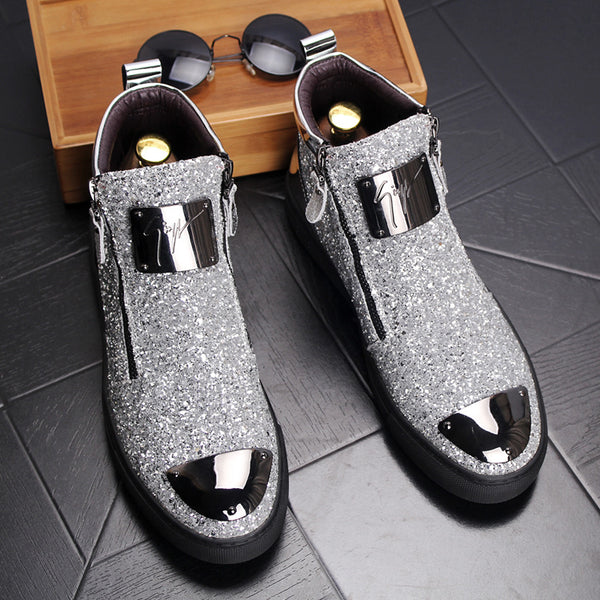 High-top casual shoes