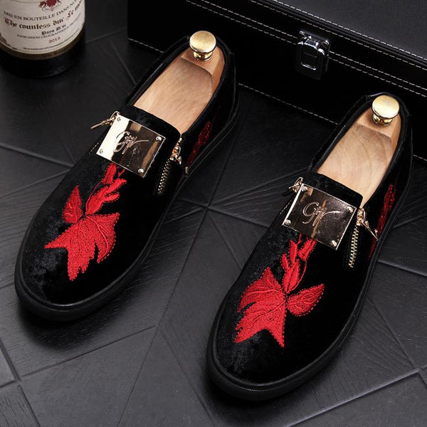 Embroidery Trendy Loafers