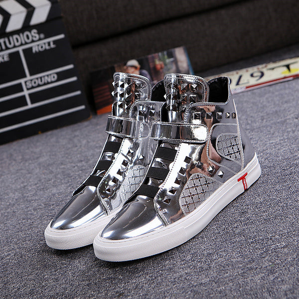 Breathable casual high-top shoes