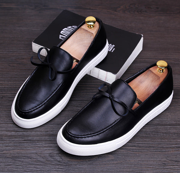 Bow Trendy Loafers-B