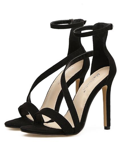 Pretty Ankle Strap Sandal High Heels