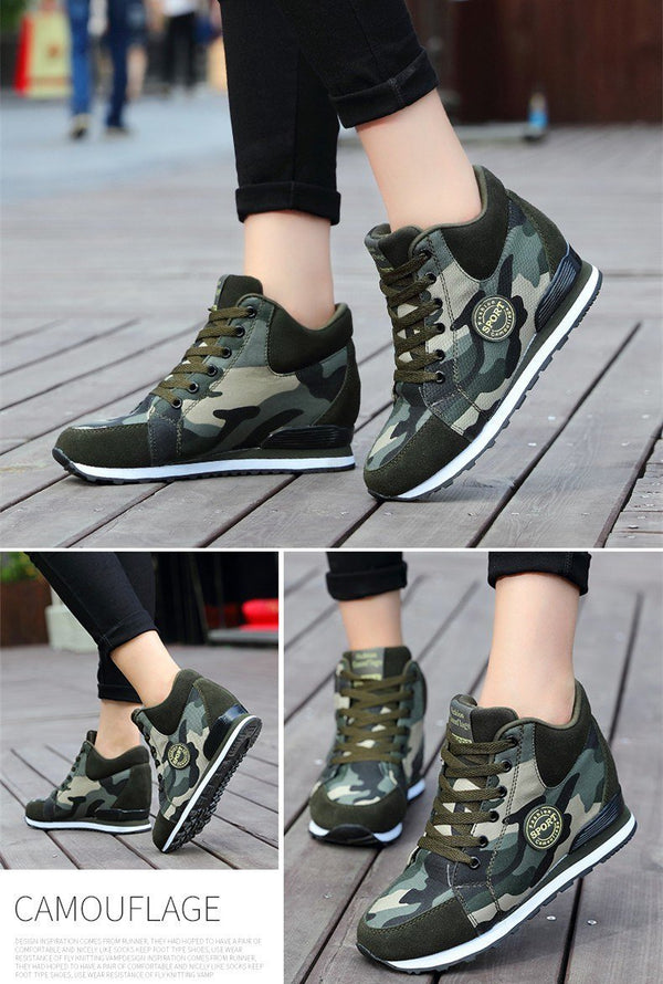 2019 Autumn Winter New Sports High-top Outdoor Sneakers