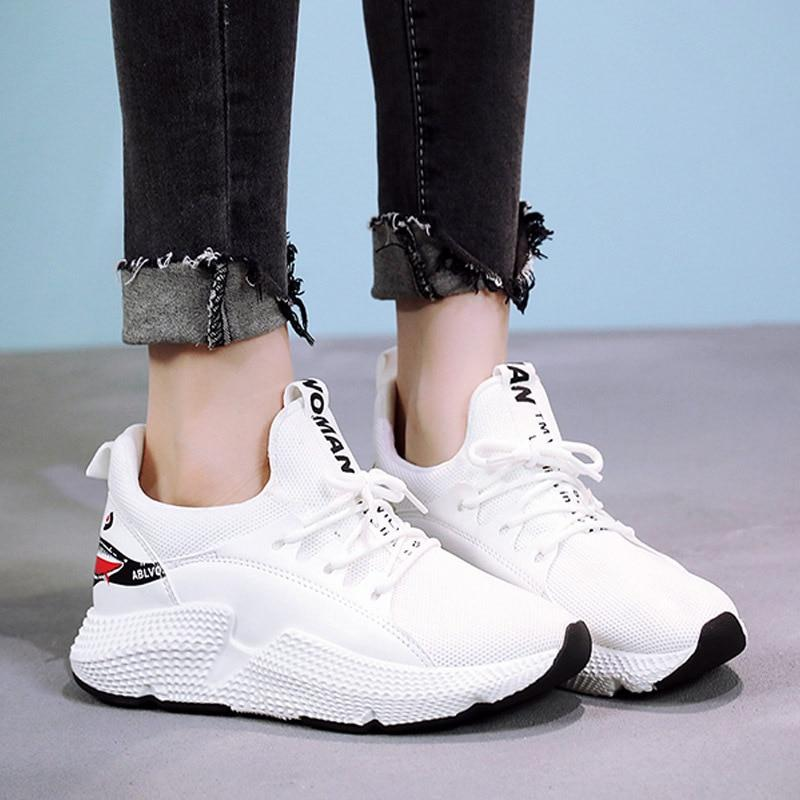 Woman Mesh Breathable Shoes Spring Casual Sneakers