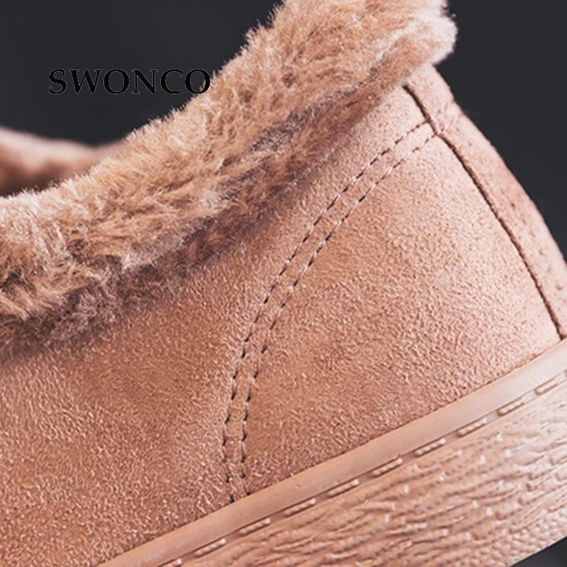 2018 Winter Fashion Riband Warm Plush Shoes