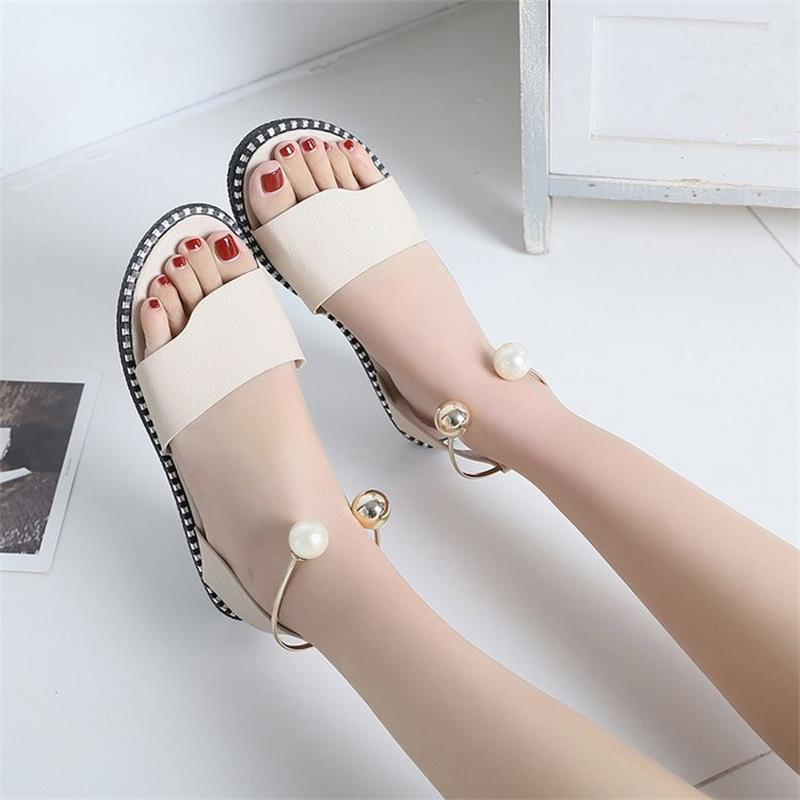 2019 New Summer Fashion Rome Non-slip Shoes
