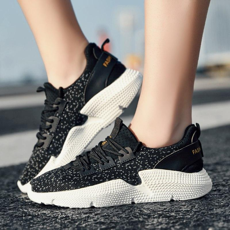 2019 New Arrival-Women Pink Jogging Running Shoes
