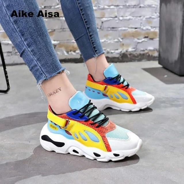 2019 new women casual comfortable sneakers