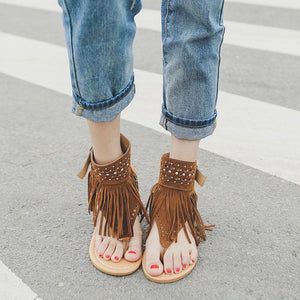2019 New Fashion Tassel Summer Shoes