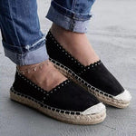 2019 Women Shallow Mouth Breathable Espadrilles Flats