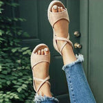 Women Shoes-2019 Woman Fish Mouth Sandals Gladiator Women Open Toe Gladiator Sandals