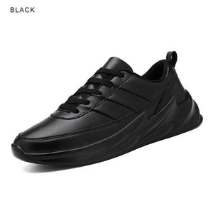Women's Shoes - Leather Spring Sneakers for Women