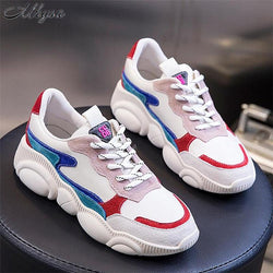 2019 Spring Autumn Women  Fashion Casual Shoes /Woman Comfortable Breathable Little Bear Flats Female Platform Sneakers