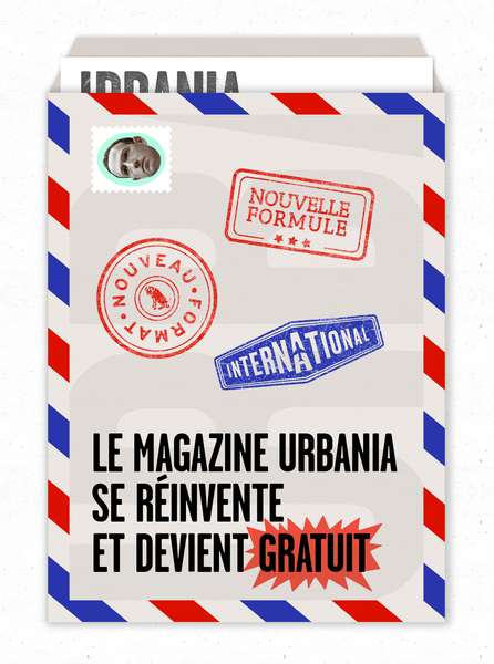 Abonnement au magazine URBANIA - international