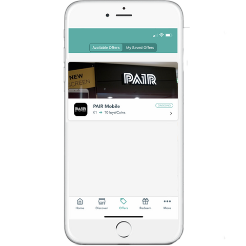 PAIR Mobile with loyalBe