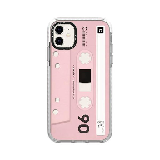 Generic Covers Casetify Impact Case for iPhone 11 Mixtape Pink
